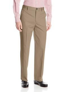 Dockers Men's Refined No Wrinkles Khaki Classic Flat Front Pant Dark Khaki - discontinued