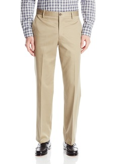 Dockers Men's Refined No Wrinkles Khaki Straight Flat Front Pant