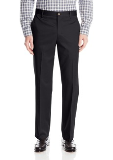 Dockers Men's Refined No Wrinkles Khaki Straight Flat Front Pant Navy - Discontinued