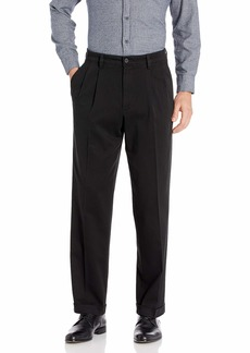 Dockers Men's Relaxed Fit Easy Khaki Pants - Pleated D4