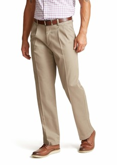 Dockers Men's Relaxed Fit Signature Khaki Lux Cotton Stretch Pants - Pleated D4