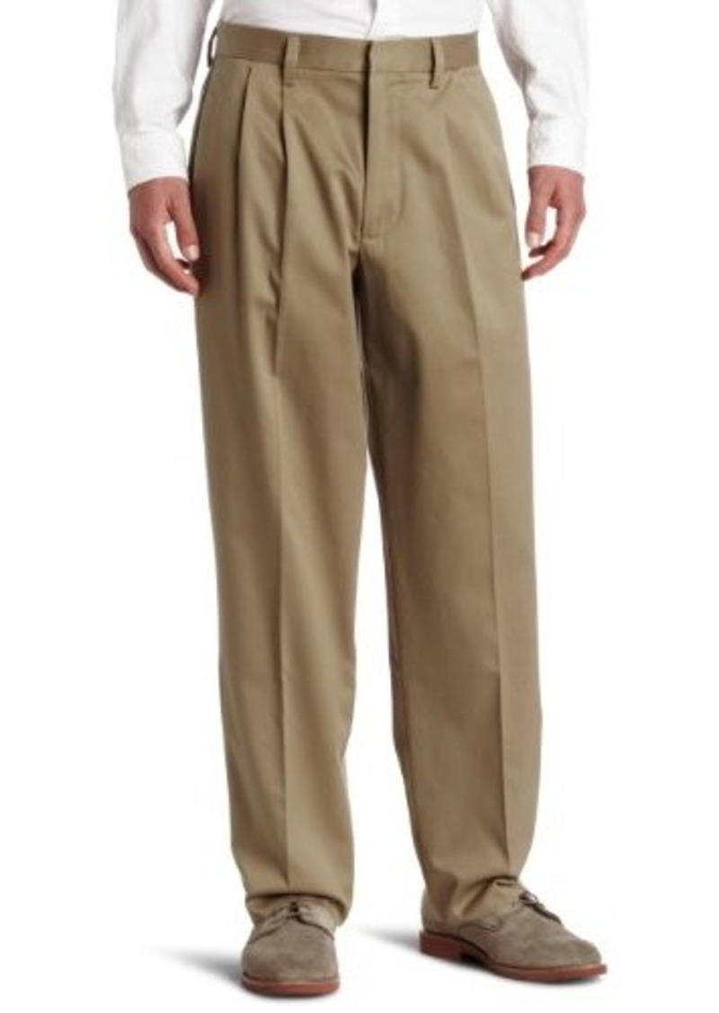 Dockers Men's Relaxed Fit Signature Khaki Pant - Pleated D4 Dark Khaki 34x32