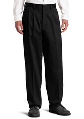 Dockers Men's Relaxed Fit Signature Khaki Pants - Pleated D4 Black (Cotton)-Discontinued