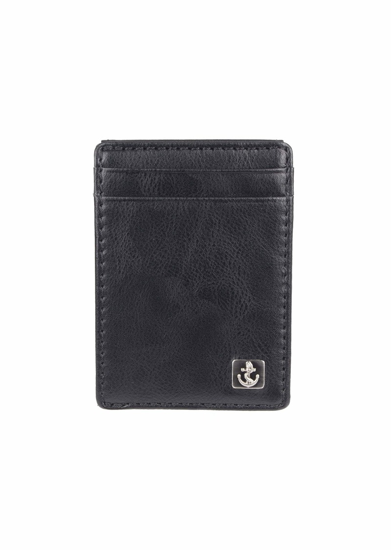 Dockers Men's RFID Blocking Slim Magnetic Front Pocket Wallet
