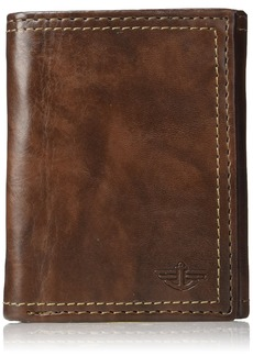 Dockers  Men's  RFID Security Blocking Extra Capacity Trifold Wallet