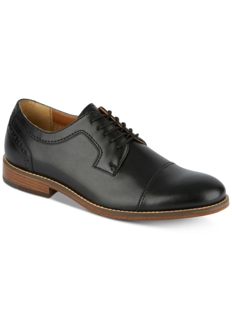 Dockers Men's Rhodes Leather Cap-Toe Oxfords Men's Shoes