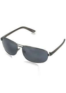 Dockers Men's S01675ldp022 Polarized Aviator Sunglasses