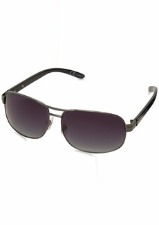 Dockers Men's S03279ldp022 Polarized Aviator Sunglasses