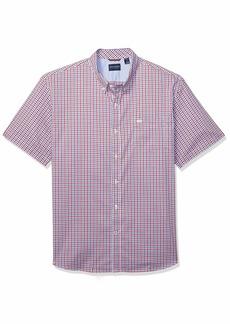 Dockers Men's Short Sleeve Button Down Comfort Flex Shirt  2X-Large