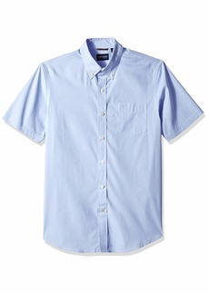 Dockers Men's Short Sleeve Button Down Comfort Flex Shirt  2X-Large