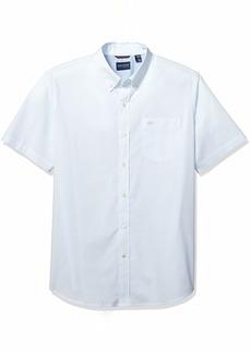Dockers Men's Short Sleeve Button-Down Comfort Flex Shirt