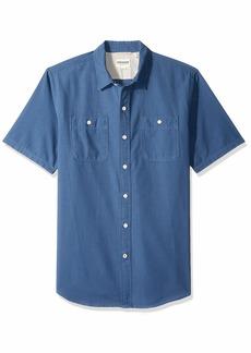 Dockers Men's Short Sleeve Button Down Comfort FLEX Shirt Dockers Shirt Sargent