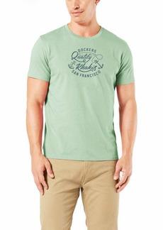 Dockers Men's Short Sleeve Crewneck T-Shirt  - Big and Tall -Big