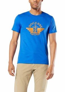 Dockers Men's Short Sleeve Crewneck T-Shirt