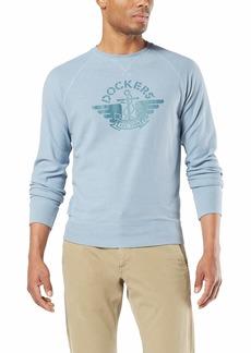 Dockers Men's Short Sleeve Crewneck Tee Shirt  L