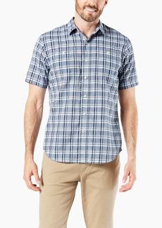 Dockers Men's Short Sleeve Performance Seersucker Shirt Peralta
