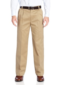 Dockers Men's Signature Khaki D2 Straight Pleat Pant Dark Khaki - discontinued