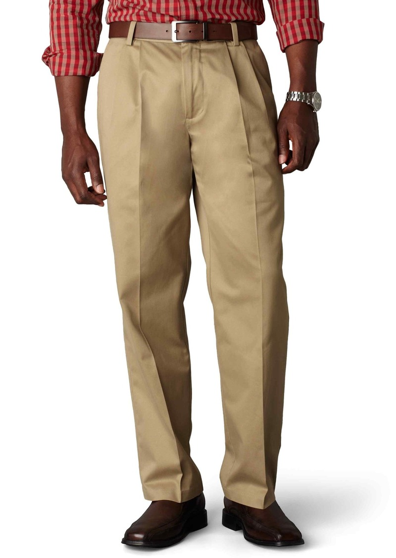 Dockers Dockers Men S Signature Khaki Big And Tall Pleated