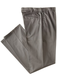 Dockers Men's Signature Khaki Big and Tall Flat Front Pant Fog - discontinued