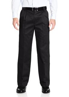 Dockers Men's Signature Khaki D2 Straight Pleat Pant Black - discontinued