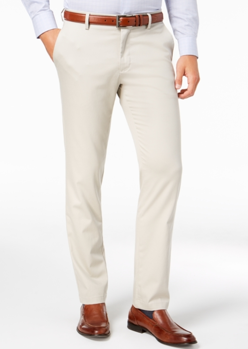 Dockers Men's Signature Lux Cotton Slim Fit Stretch Khaki Pants