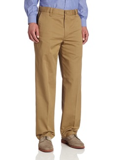 Dockers Men's Signature Performance Casual D3 Classic Fit Flat Front Pant New British Khaki - discontinued