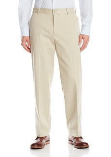 Dockers Men's Signature Performance Khaki Relaxed Flat-Front Pant Safari Beige - discontinued