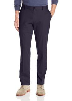 Dockers Men's Athletic Fit Signature Khaki Pants Navy (Stretch)