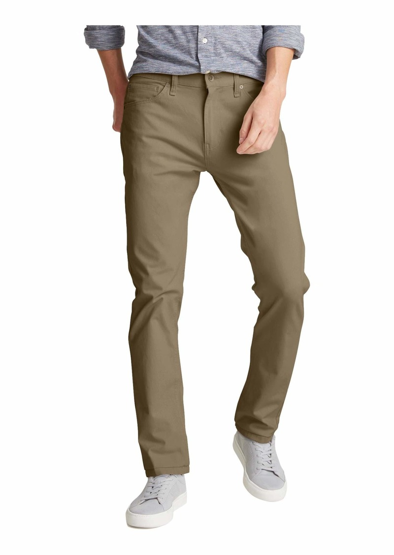 Dockers Men's Slim Fit-Jean Cut with Smart 360 Flex Pants New British Khaki - Beige 38Wx30L