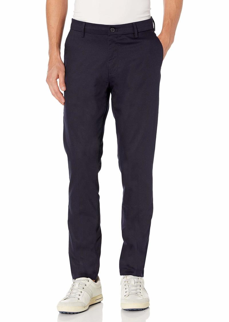 Dockers Men's Slim Fit Signature Khaki Lux Pants Navy 33Wx32L