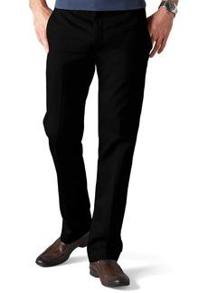 Dockers Men's Slim Fit Signature Khaki Pant D1 Black (Cotton)-Discontinued