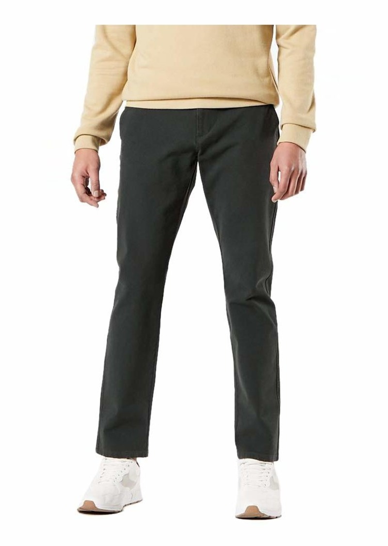 Dockers Men's Slim Fit Ultimate Chino Pants Gray Woods