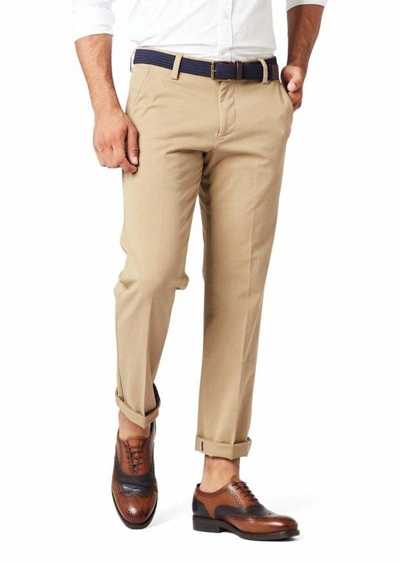 Dockers Men's Slim Fit Workday Khaki Smart 360 Flex Pants New British Khakhi (Stretch)