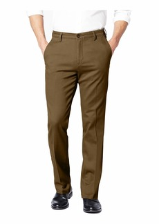 Dockers Men's Slim Tapered Fit Easy Khaki Pants Tobacco- Brown 30Wx30L