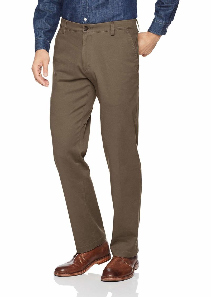 Dockers Men's Straight Fit Easy Khaki Pants D2 Dark Pebble (Stretch) 36 30