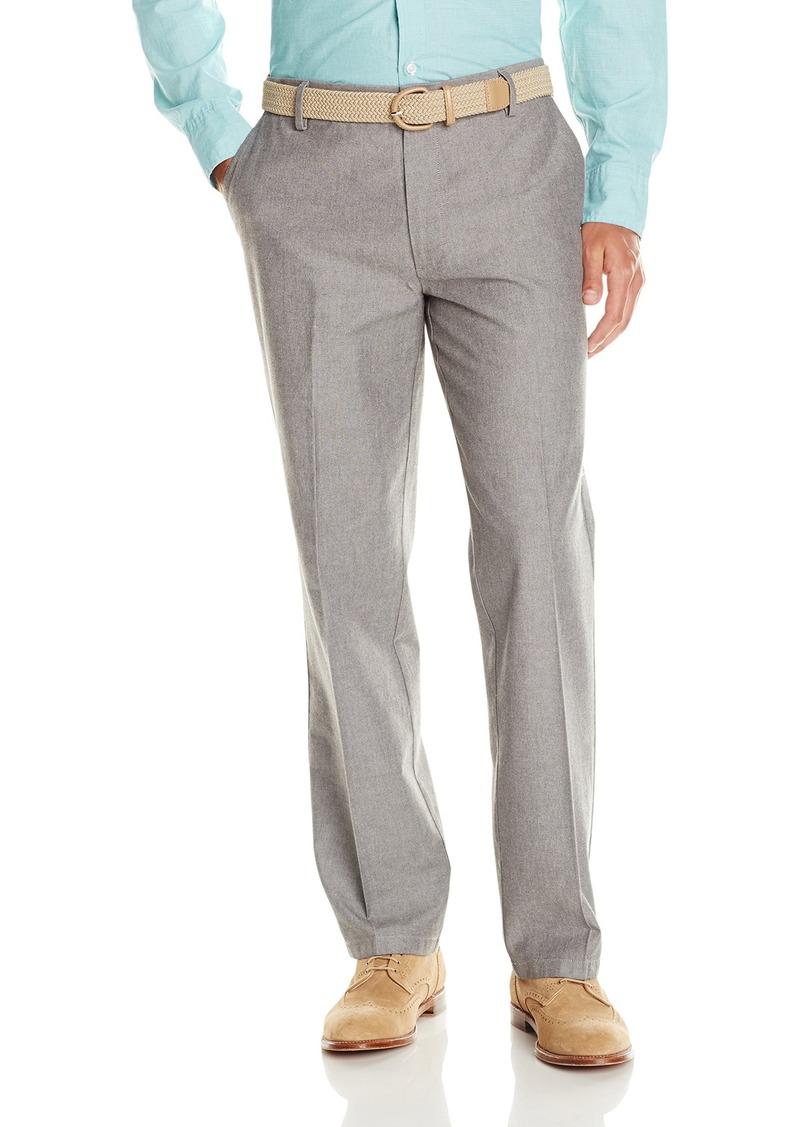 Dockers Men's Straight Fit Signature Khaki Pant D2 Bradshaw Oxford/Storm Heather 30 32