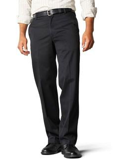 Dockers Men's Straight Fit Signature Khaki Pant D2 Black (Cotton) -discontinued