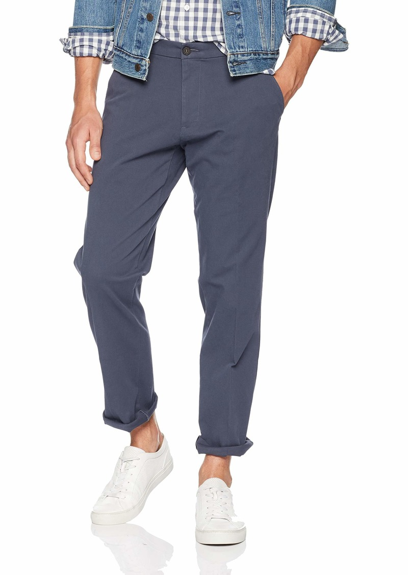 Dockers Men's Straight Fit Workday Khaki Smart 360 Flex Pants ombre blue