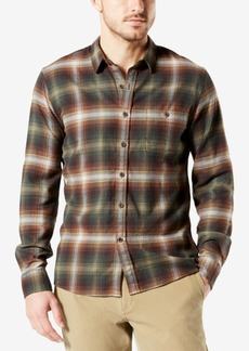 Dockers Men's Stretch Flannel Shirt