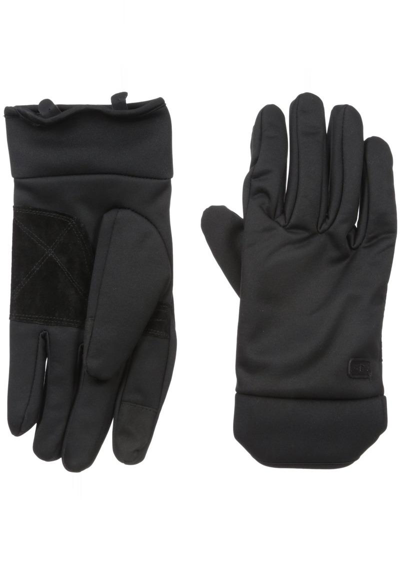 Dockers Men's Warm Winter Gloves Black solid