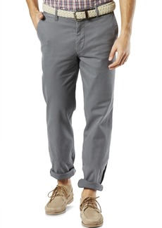 Dockers Men's Straight Fit Washed Khaki Stretch Pants D2