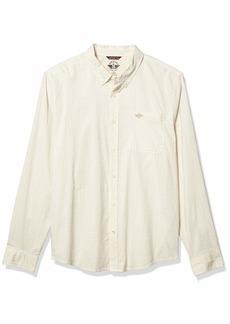 Dockers Men's Supreme Flex Alpha Icon Woven Shirt Khaki turf XXL