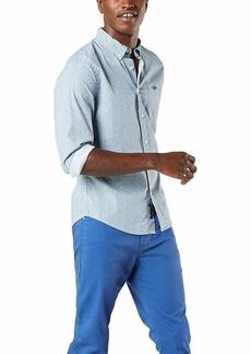 Dockers Men's Supreme Flex Alpha Icon Woven Shirt  M