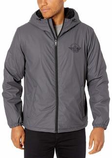 Dockers Men's The Bryce Stretch Sherpa Lined Waterproof Rain Jacket