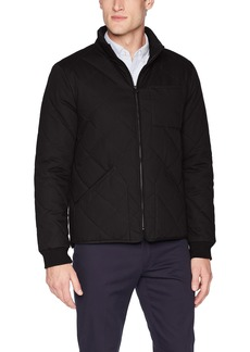 Dockers Men's The Oliver Coated Cotton Diamond Quilted Jacket