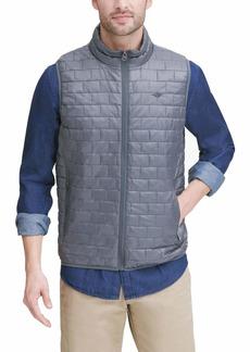 Dockers Men's The Reid Lightweight Box Quilted Puffer Vest