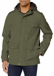 Dockers Men's Thorn Trail Cloth Waterproof Rain Slicker Jacket