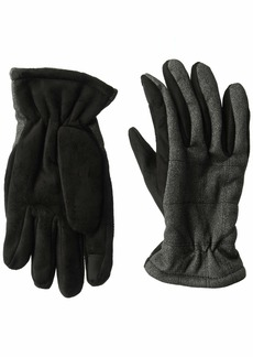 Dockers Men's Touchscreen Performance Gloves charcoal casual