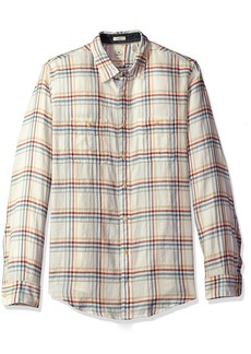 Dockers Men's Twill Long Sleeve Button Front Shirt