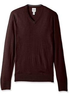 Dockers Men's V-neck Merino Long Sleeve Sweater